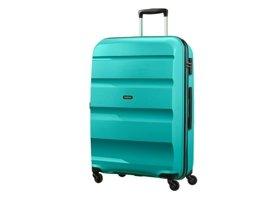 Duża walizka AMERICAN TOURISTER 85A*003 turkusowa