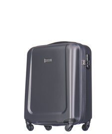 Mała walizka PUCCINI ABS04 Ibiza ciemnoszara