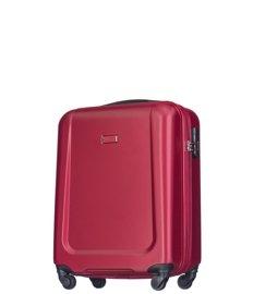Mała walizka PUCCINI ABS04 Ibiza czerwona