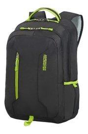 Plecak AMERICAN TOURISTER 24G*29004 czarny z limonkowymi zamkami