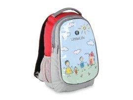 Plecak dziecięcy LITTLE LIFE L10730 czerwono-szary